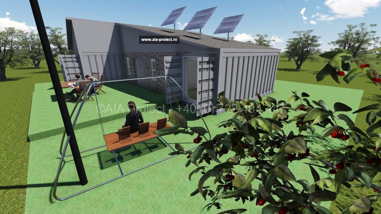 Proiect casa container AIA Proiect