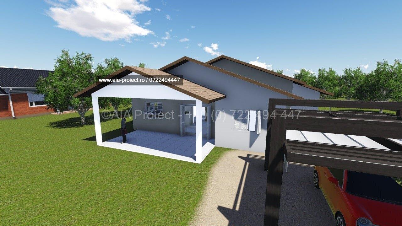 Proiect casa parter  proiect casa parter Proiect casa parter Narcisa 2 casa simpla parter 0722494447