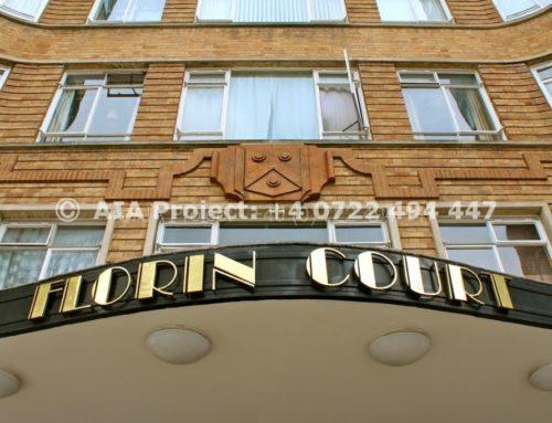 Cladirea Florin Court – apartamentul lui Hercule Poirot