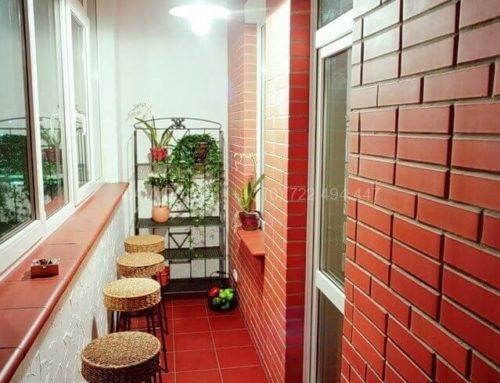 Amenajarea apartamentului, idei pentru balcon