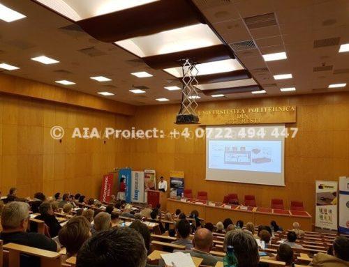 AIA Proiect a participat la Conferința Națională Eficiența Energetică în Clădiri – editia a X1-a (2017)