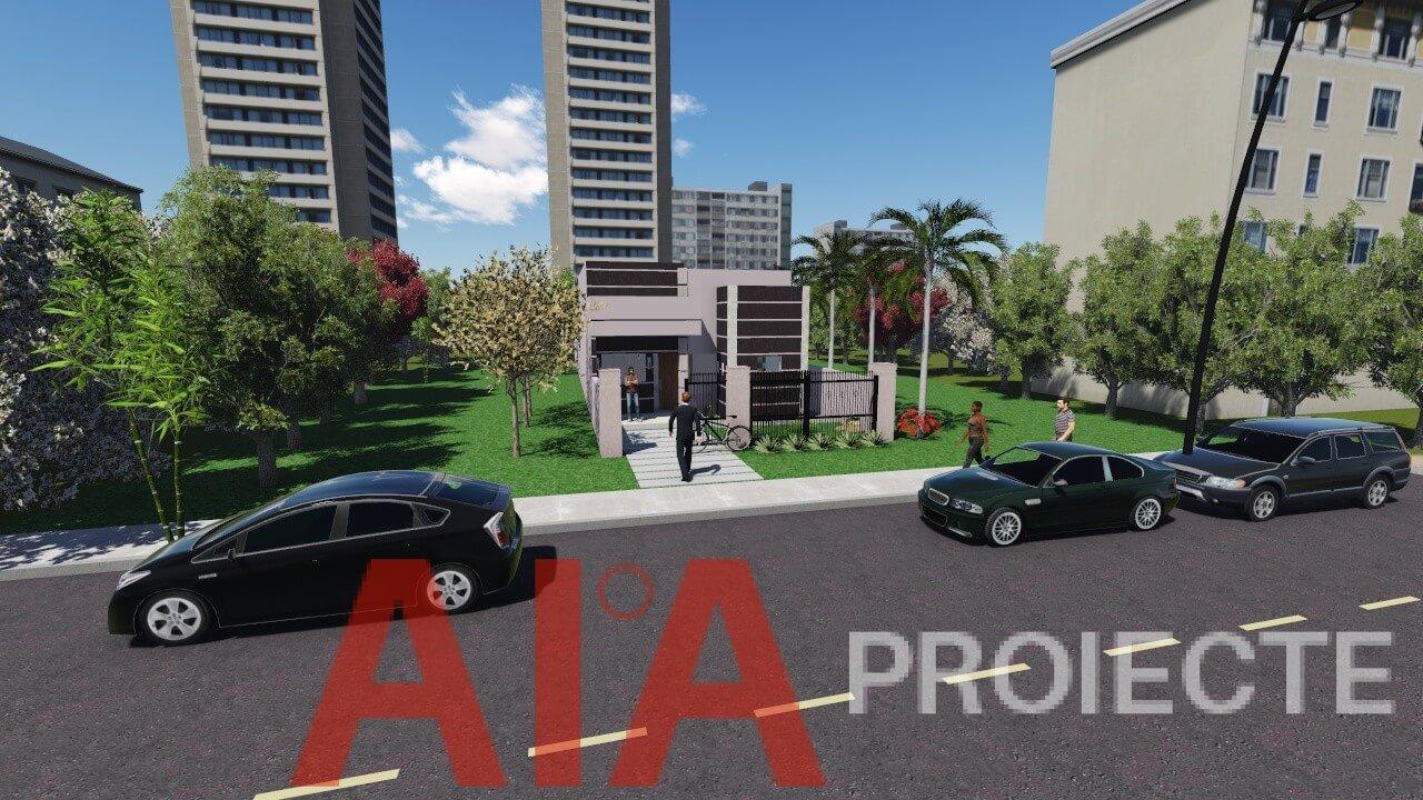 Proiect casa parter Nufar