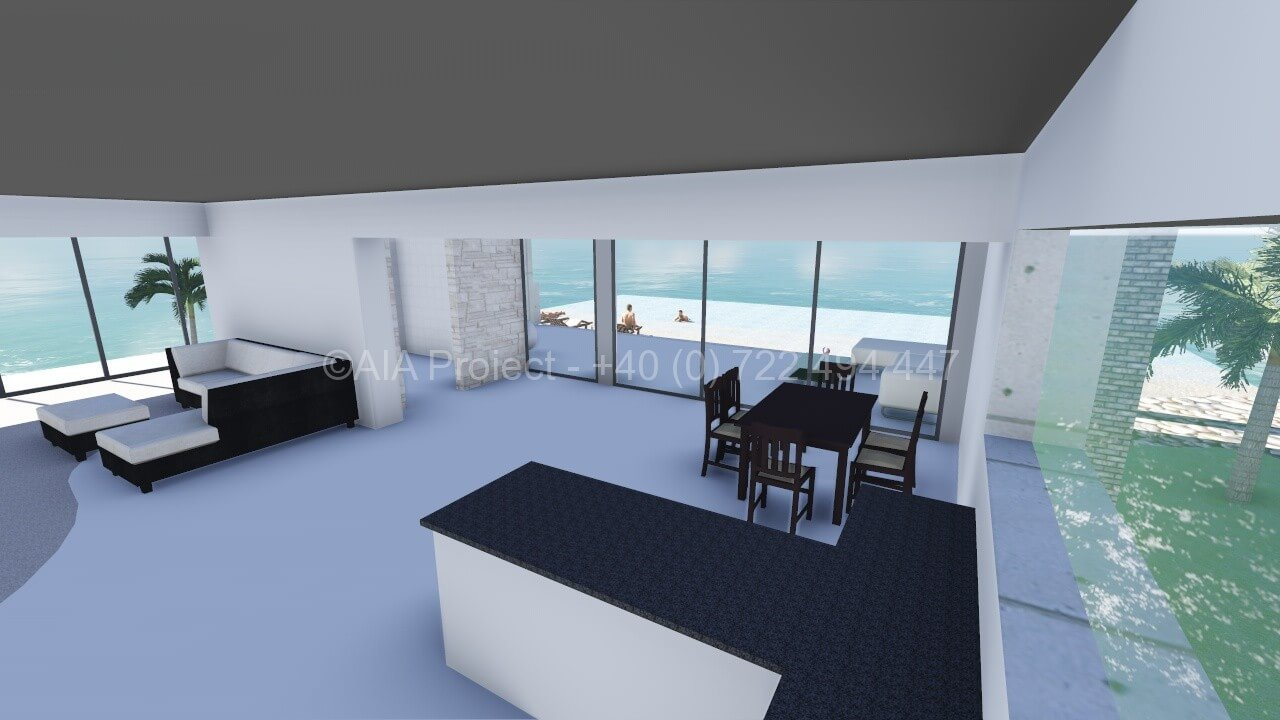 Proiect casa parter vacanta ( plaja, lac, etc. )