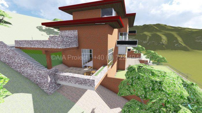 Proiect casa cu 3 etaje P+3 Magnolia