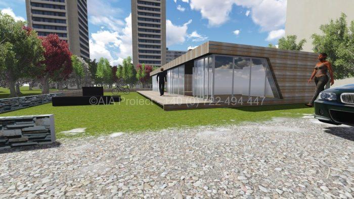 Proiect casa parter moderna Iasomie