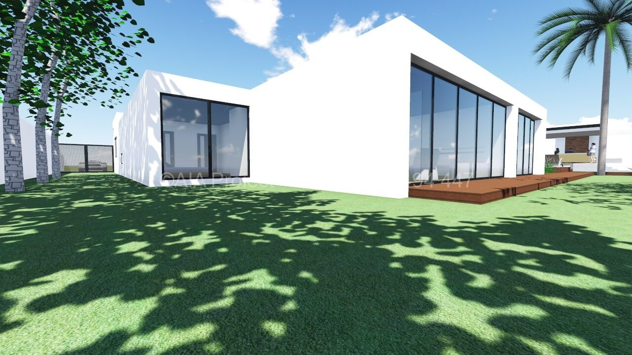 Proiect casa moderna P+1 Cala