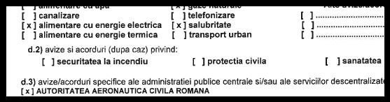 Aviz Autoritatea Aeronautica Civila Romana