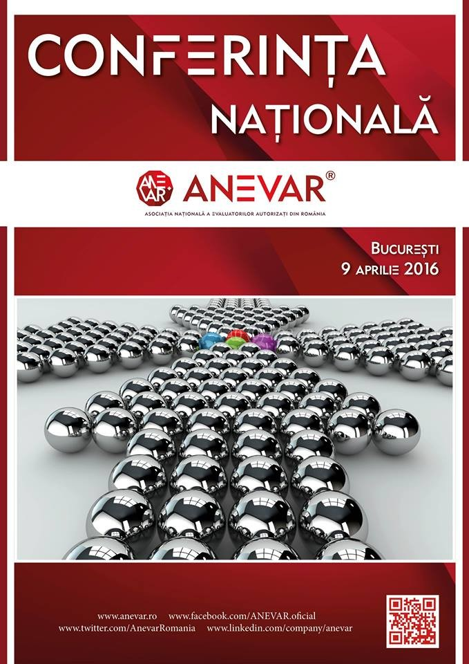 Un eveniment de excelenta: Conferinta Nationala ANEVAR 2016