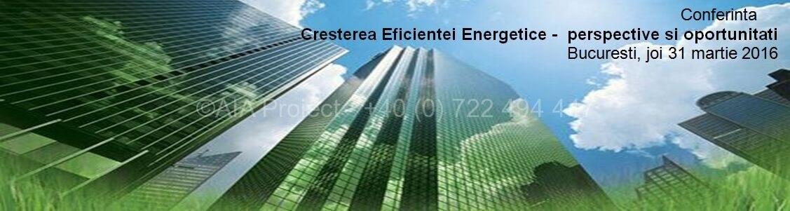 Cresterea Eficientei Energetice - AIA Proiect