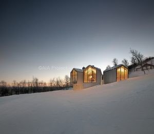 Spatii Domesticelebre - Proiect cabana de munte