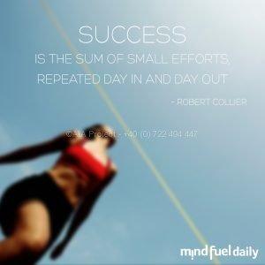 Ce ne motiveaza? Succesul.