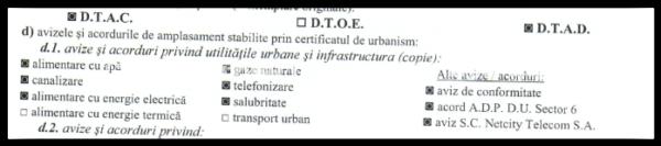 Aviz Netcity Telecom SA in certifcat de urbanism AIA Proiect