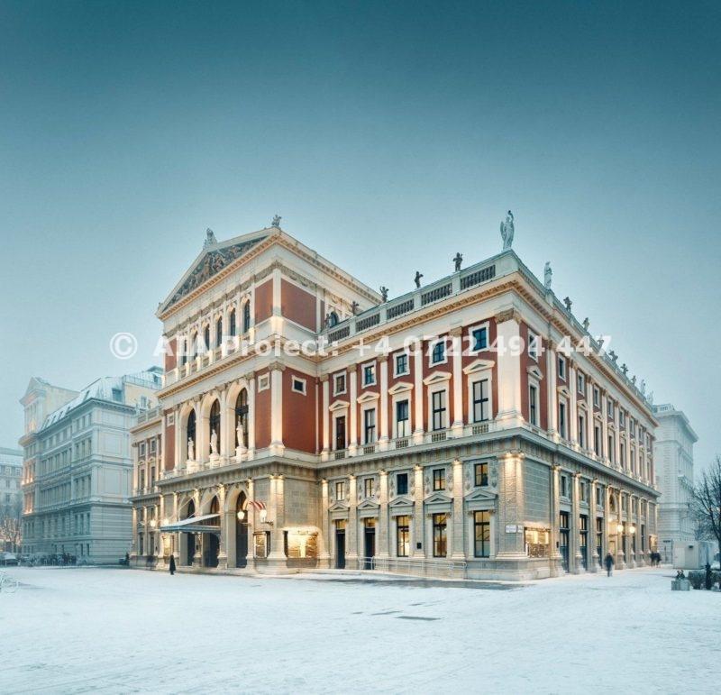 Cladirea operei din Viena astazi