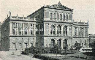 Cladirea operei din Viena in 1890