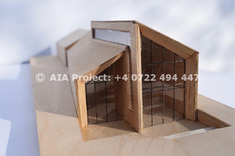 Proiect de casa pe teren ingust