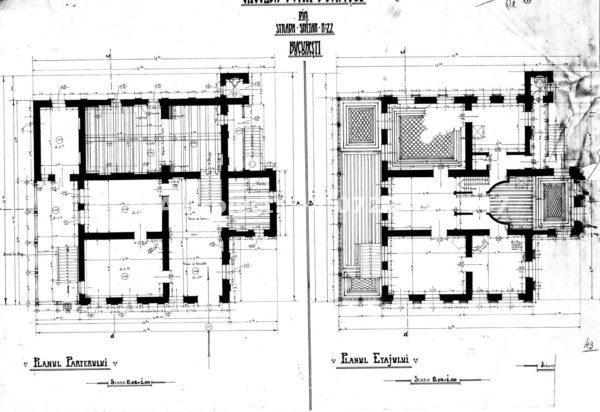 Planuri Spatarului 22 Casa Melik - AIA Proiect