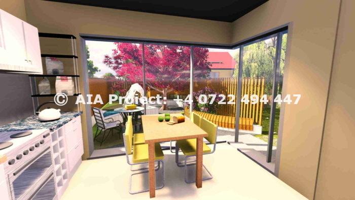 Proiect de casa PM la calcan - Violeta by AIA Proiect