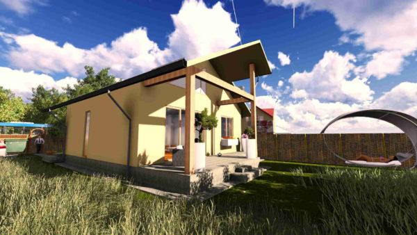Proiect de casa parter calcan
