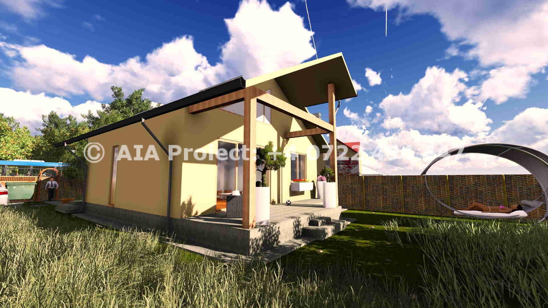 Proiect de casa parter calcan - Bergenia