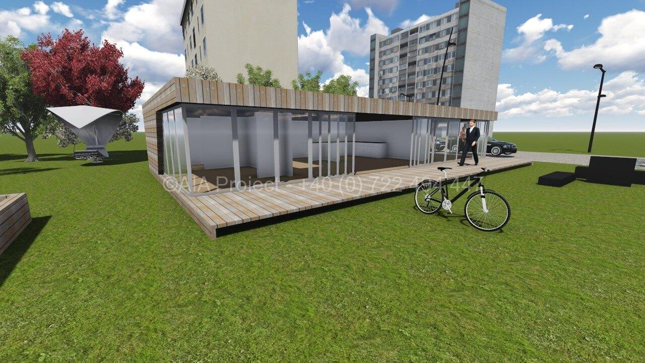 Proiect casa parter moderna