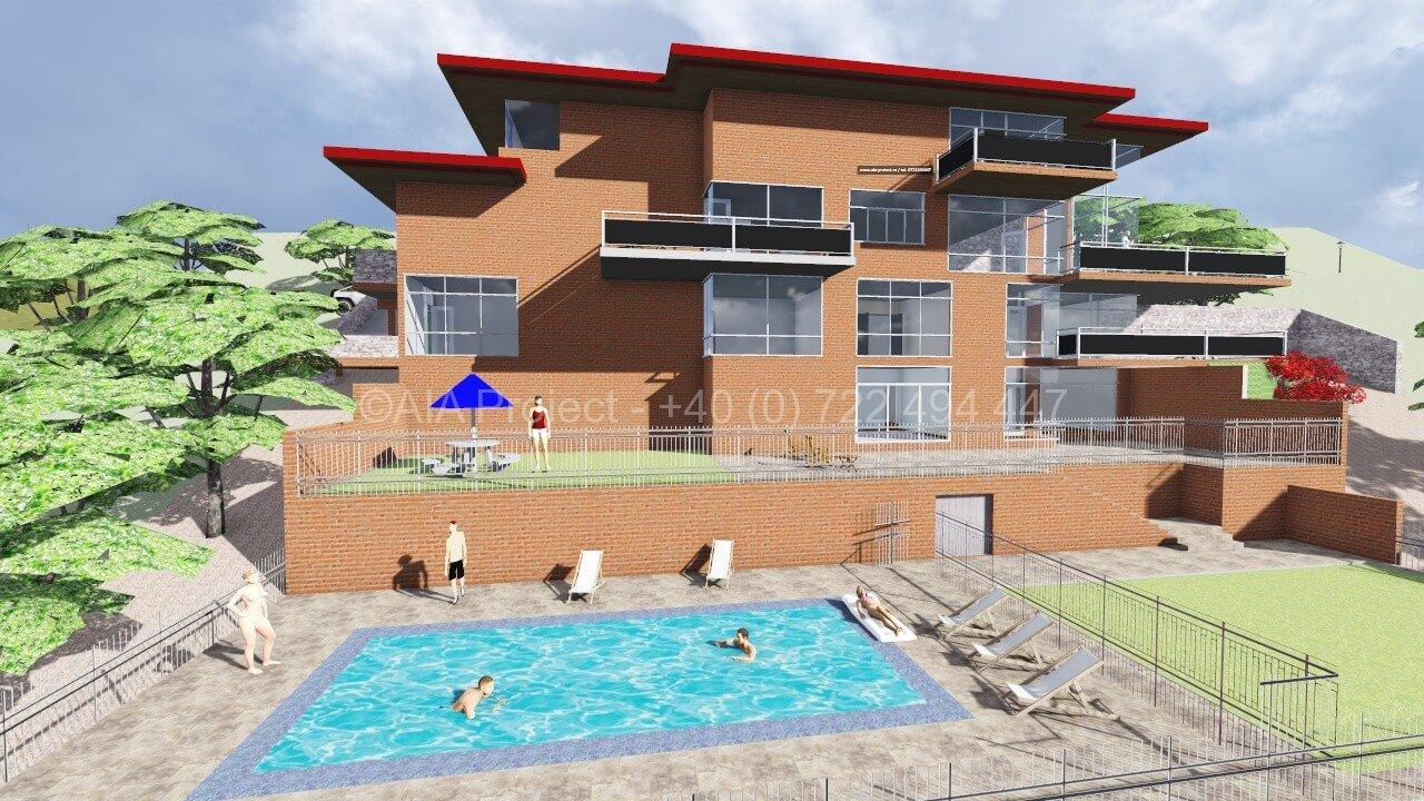 Proiect casa cu 3 etaje proiect casa cu 3 etaje Proiect casa cu 3 etaje P+3 Magnolia 4 Casa Moderna 0722494447