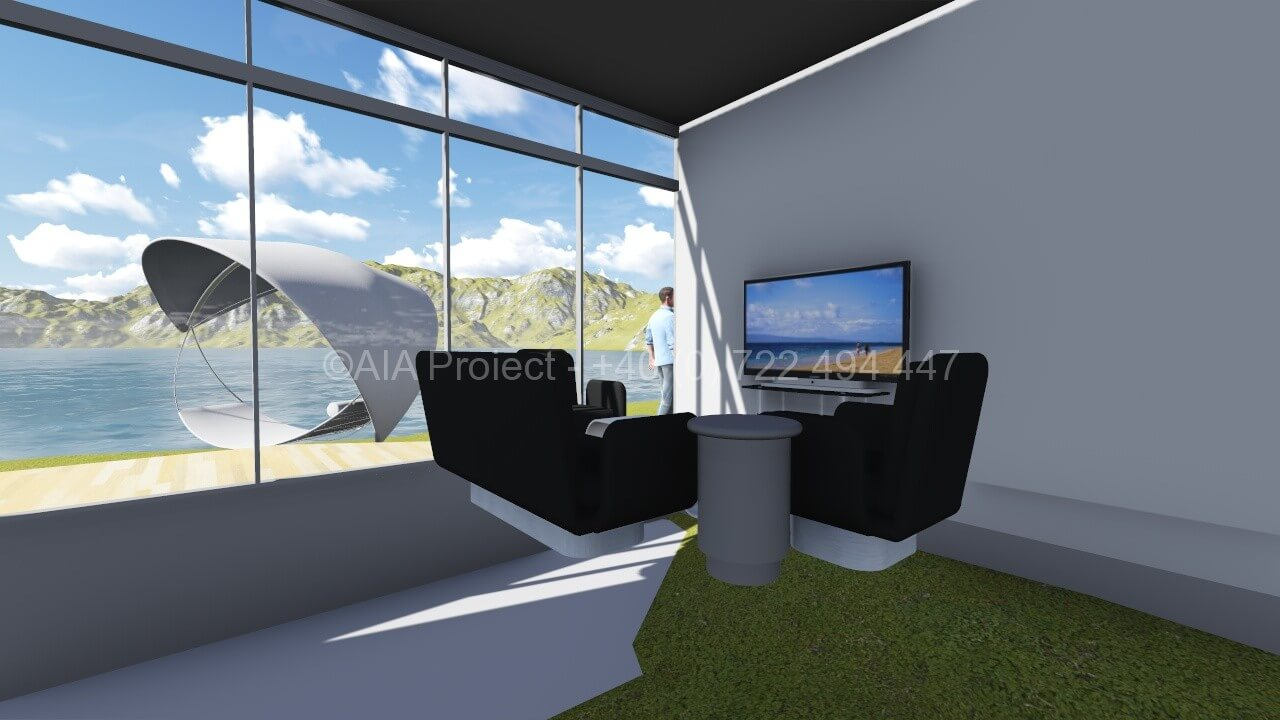 Proiect casa de vacanta parter