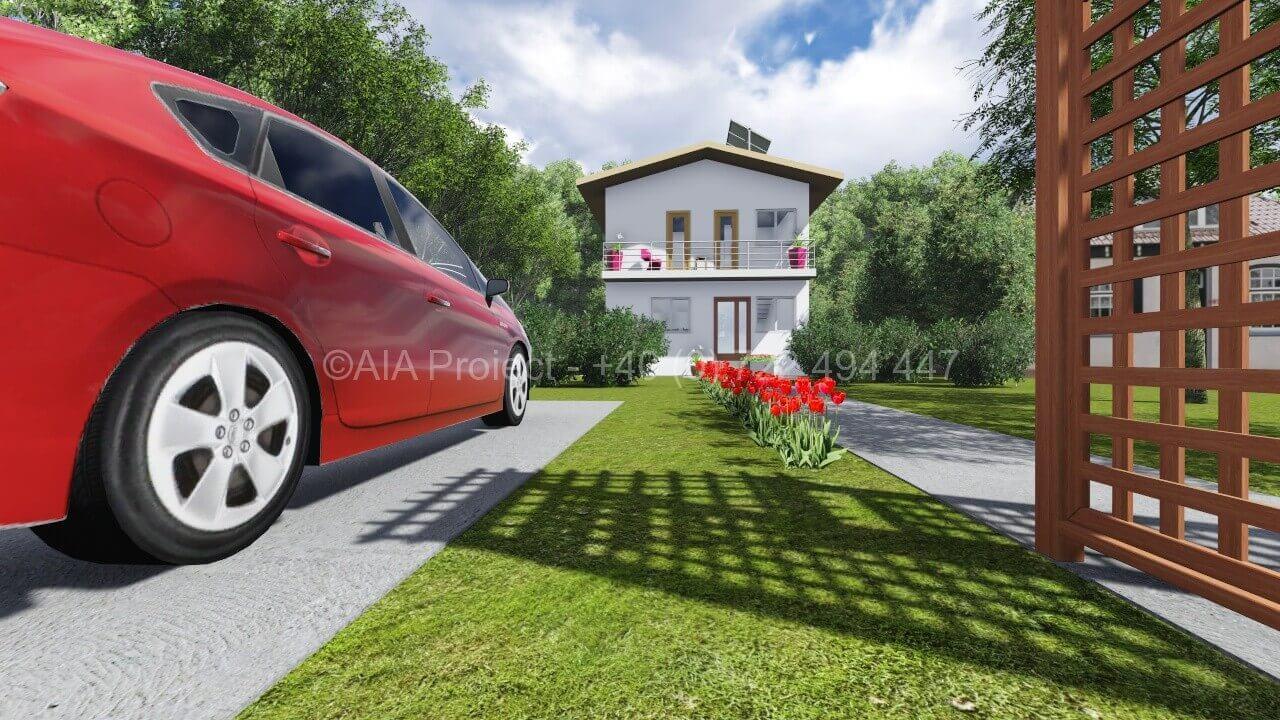 Proiect casa parter cu etaj simpla Casa Brandusa proiect casa parter cu etaj simpla Proiect casa parter cu etaj simpla P+1 Brandusa Proiect casa parter cu etaj simpla Casa Brandusa 2